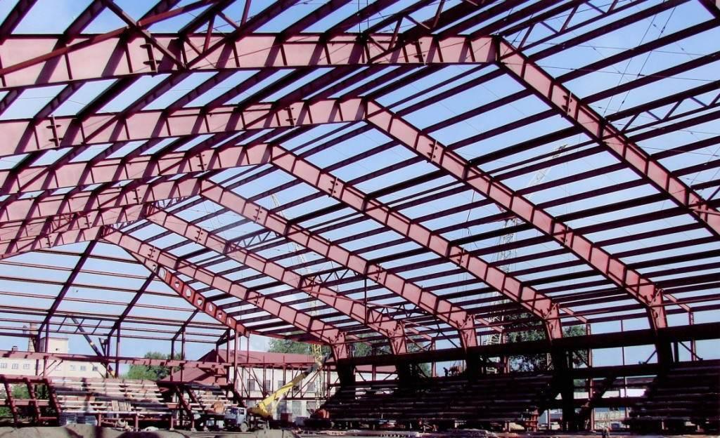 Комплекс услуг при строительстве спортивных сооружений